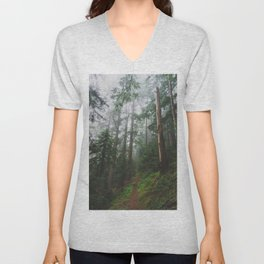 The Gorge - Pacific Crest Trail, Oregon Unisex V-Neck
