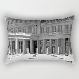Colonnes de Buren Rectangular Pillow