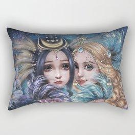Birds of the Paradise Rectangular Pillow
