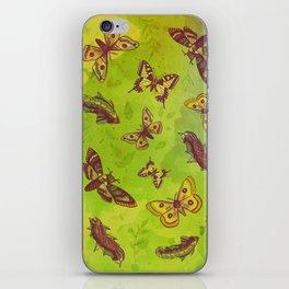 Butterflies Pattern iPhone Skin