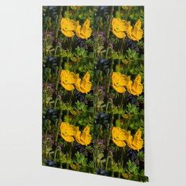 Honeysuckle Yellow Wallpaper