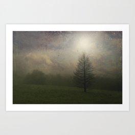 Painted Mist Art Print