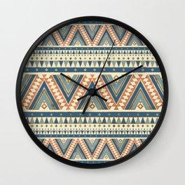 Aztec Ethnic Pattern Art N2 Wall Clock