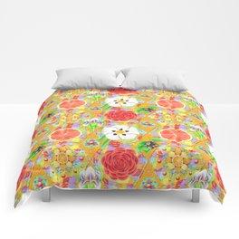 4160 Tuesdays Rainbow Botanicals Comforters
