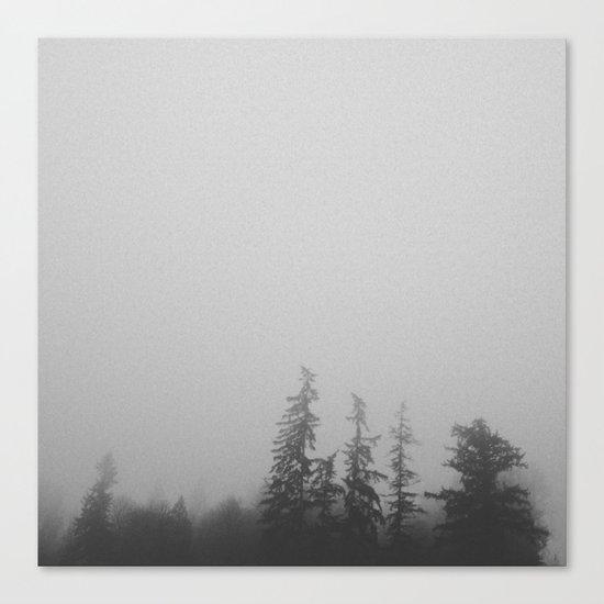 Dense Fog Canvas Print