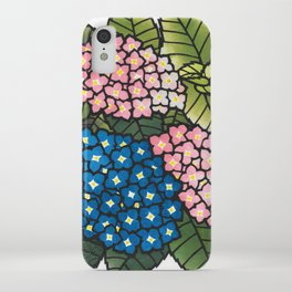 Ajisai iPhone Case