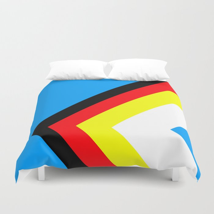A Wrong Turn Duvet Cover