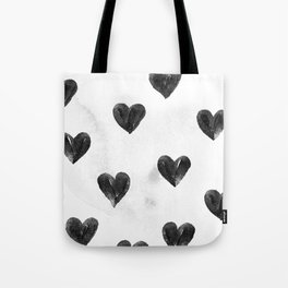 I drew a few hearts for you Tote Bag