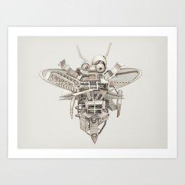 Bee by Angela Ball Art Print