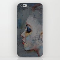 ballerina iPhone & iPod Skins featuring Ballerina by Michael Creese