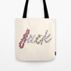 Floral AF Tote Bag