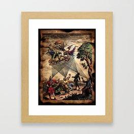 Medieval Minstrel Spirits Framed Art Print