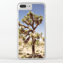 Joshua Tree (Color) Clear iPhone Case