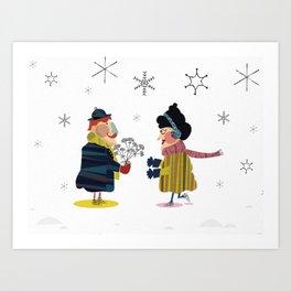 Frank and Wanda Art Print