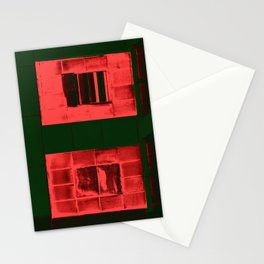 """""""Red Windows"""" Stationery Cards"""