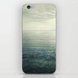 Calm at the sea. Summer dreams iPhone Skin