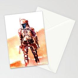 StarWars Jango Fett Stationery Cards