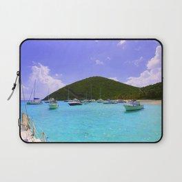 Sailing in the British Virgin Islands Laptop Sleeve