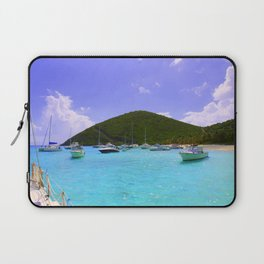 Sailing in the British Virgin Islands Laptop Sleeve