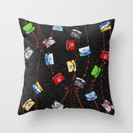 Dial 9 for an outside line. Throw Pillow