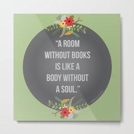 Body without a soul Metal Print