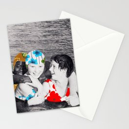 Water Nymphs (collboration .dotbox) Stationery Cards