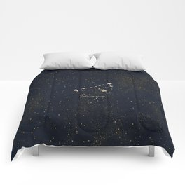 Virgo - Rose Gold Comforters