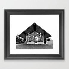 Architecture Americana Framed Art Print