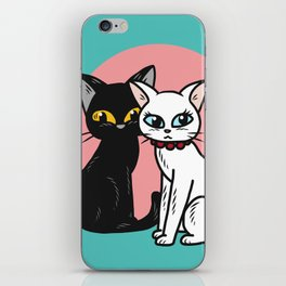 Lover cats iPhone Skin