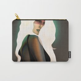 Brown queen Carry-All Pouch