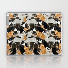 Cat Print Laptop & iPad Skin