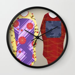 Geisha Maiko Fall Wall Clock