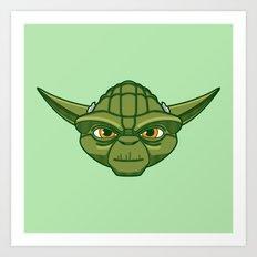 #47 Yoda Art Print