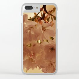 SPRING BLOSSOMS IN PINK Clear iPhone Case