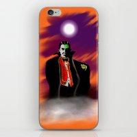 dracula iPhone & iPod Skins featuring Dracula by JT Digital Art