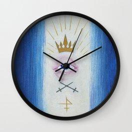 Illuminati : Gaze of Protection Wall Clock