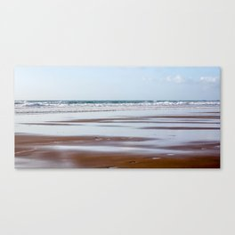 Watergate Bay - Incoming Tide Canvas Print