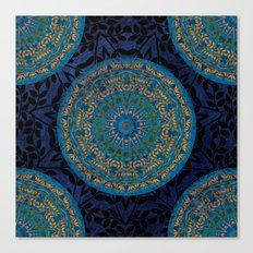 Ornament Pattern Mandala Canvas Print