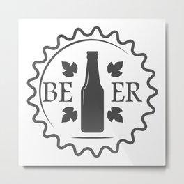 Beer style Fashion Modern Design Print! Metal Print
