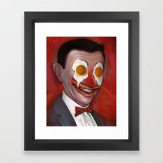 Mr. Breakfast Framed Art Print