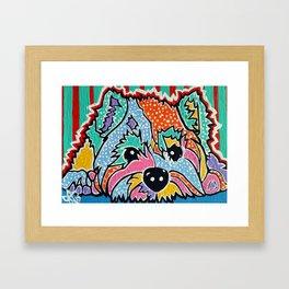 Cotton Candy Designer Dog Series Puppy Pet Westie Westy West Highland Terrier Scottish Cairn Norfolk Framed Art Print