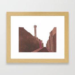 London BT Tower Print Framed Art Print