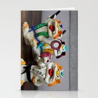 inner demons Stationery Cards featuring Demons by Milena