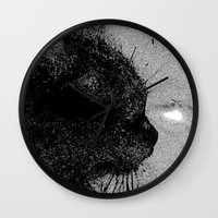 boss Wall Clocks featuring Boss by Leffan