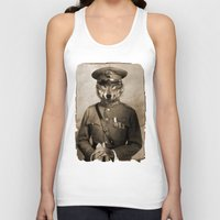 general Tank Tops featuring The general by Seamless