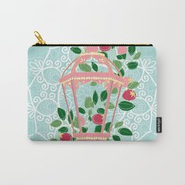 Pink Lantern Carry-All Pouch