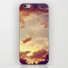red clouds iPhone & iPod Skin