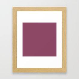 Violet Quartz Framed Art Print