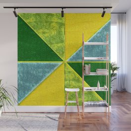 Abs Geometry lemon Wall Mural