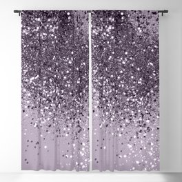 Sparkling Lavender Lady Glitter #2 #shiny #decor #art #society6 Blackout Curtain